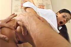 Anal Nurse Olivia De Treville & Steve Holmes