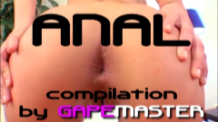 Anal compilation by Gapemaster